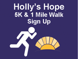 Holly's Hope Button